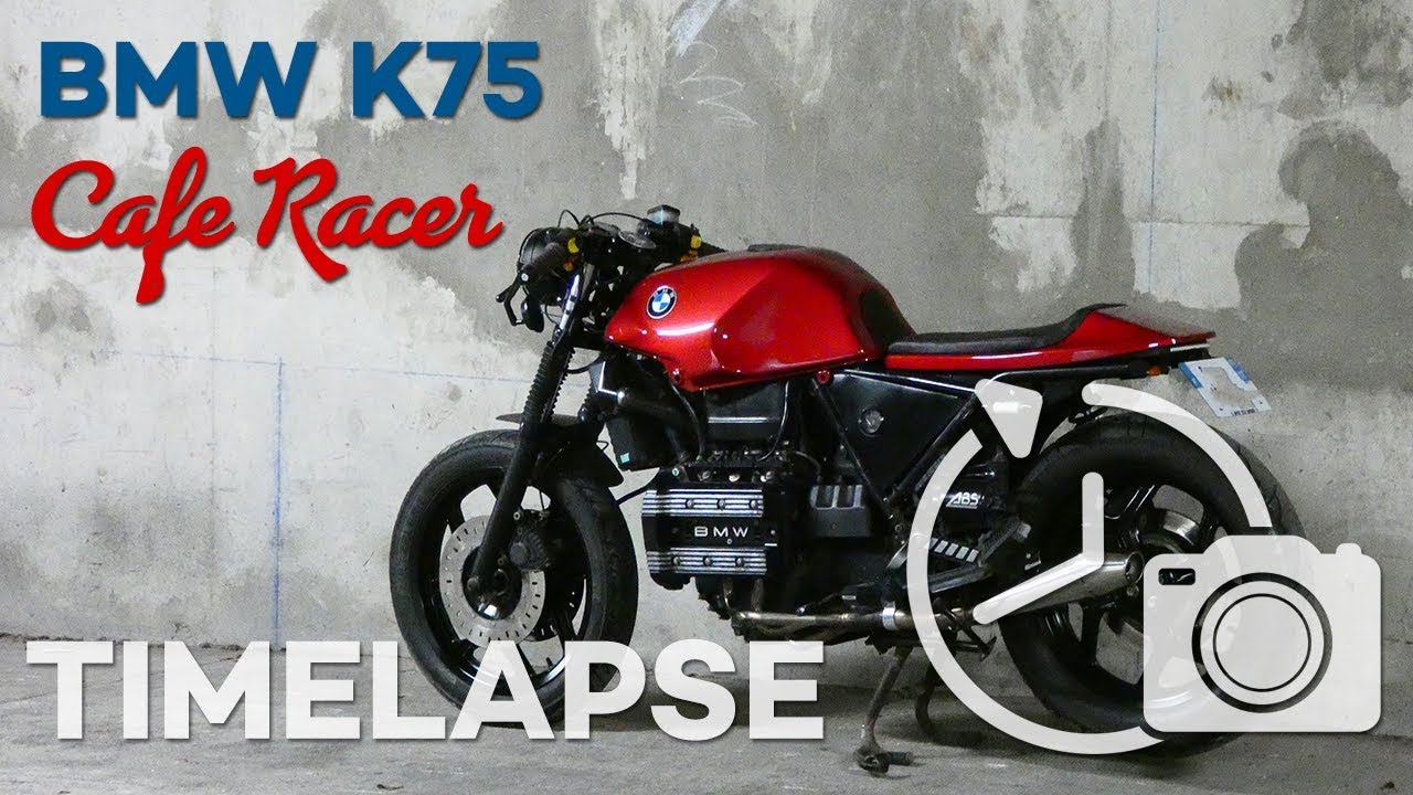 BMW K75 Cafe Racer Build - [FULL TIMELAPSE!]