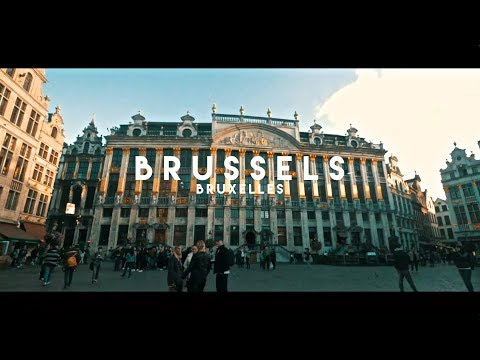 Brussels ( Bruxelles ) 4K - Welcome to Europe