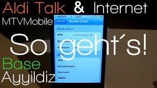 Anleitung: iPhone 3G/3GS/4/5 Internet Aldi Talk, Eplus, Ayyildiz, Base & co. + Persöhnlicher Hotspot