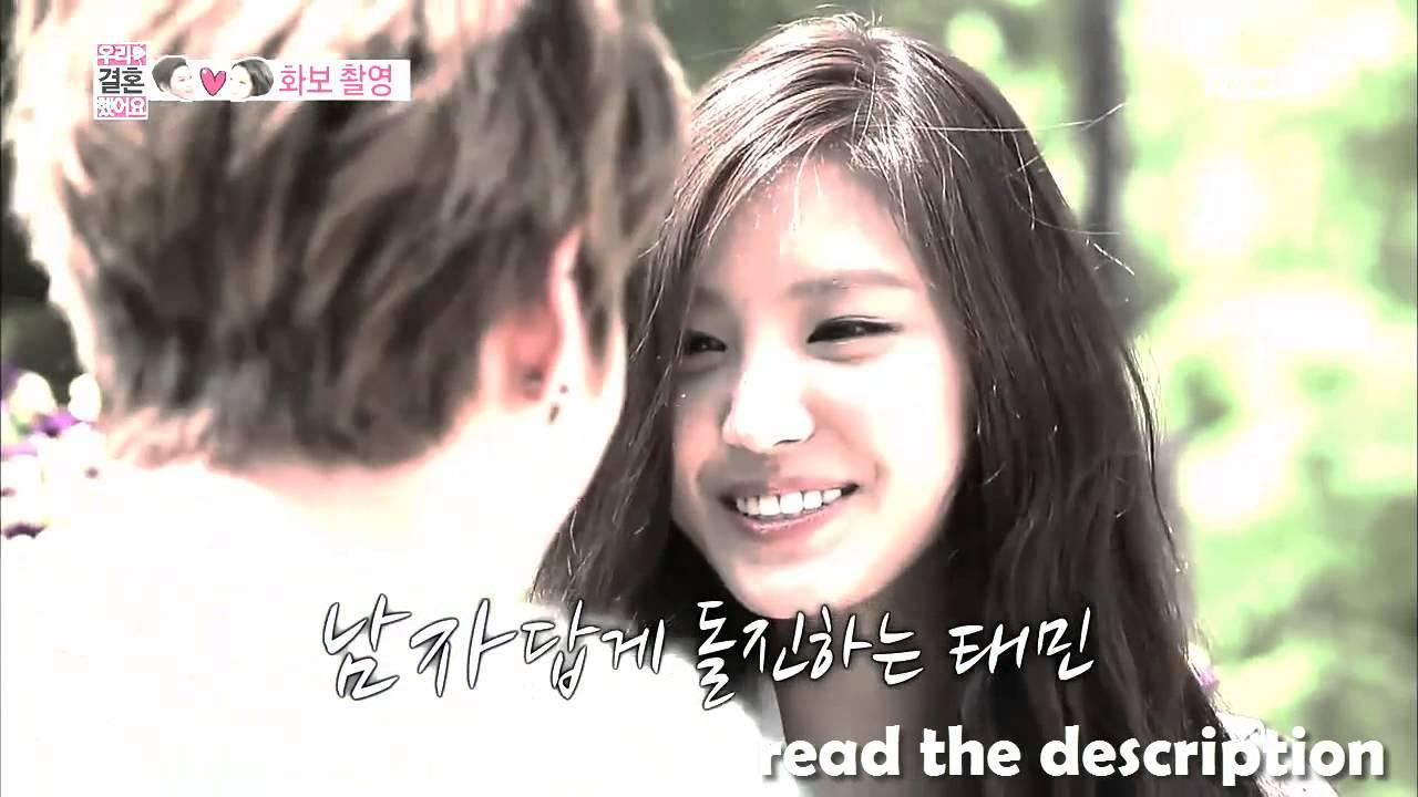 We got married taemin and naeun episode 1 english sub