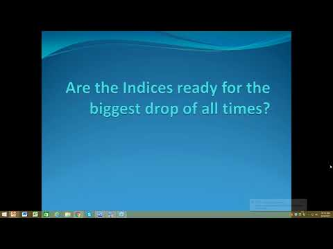 Are Indices ready for the biggest drop of all times