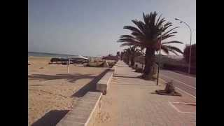 Cologna Spiaggia (Roseto degli Abruzzi)  Scorcio del Lungomare (ottobre 2014)