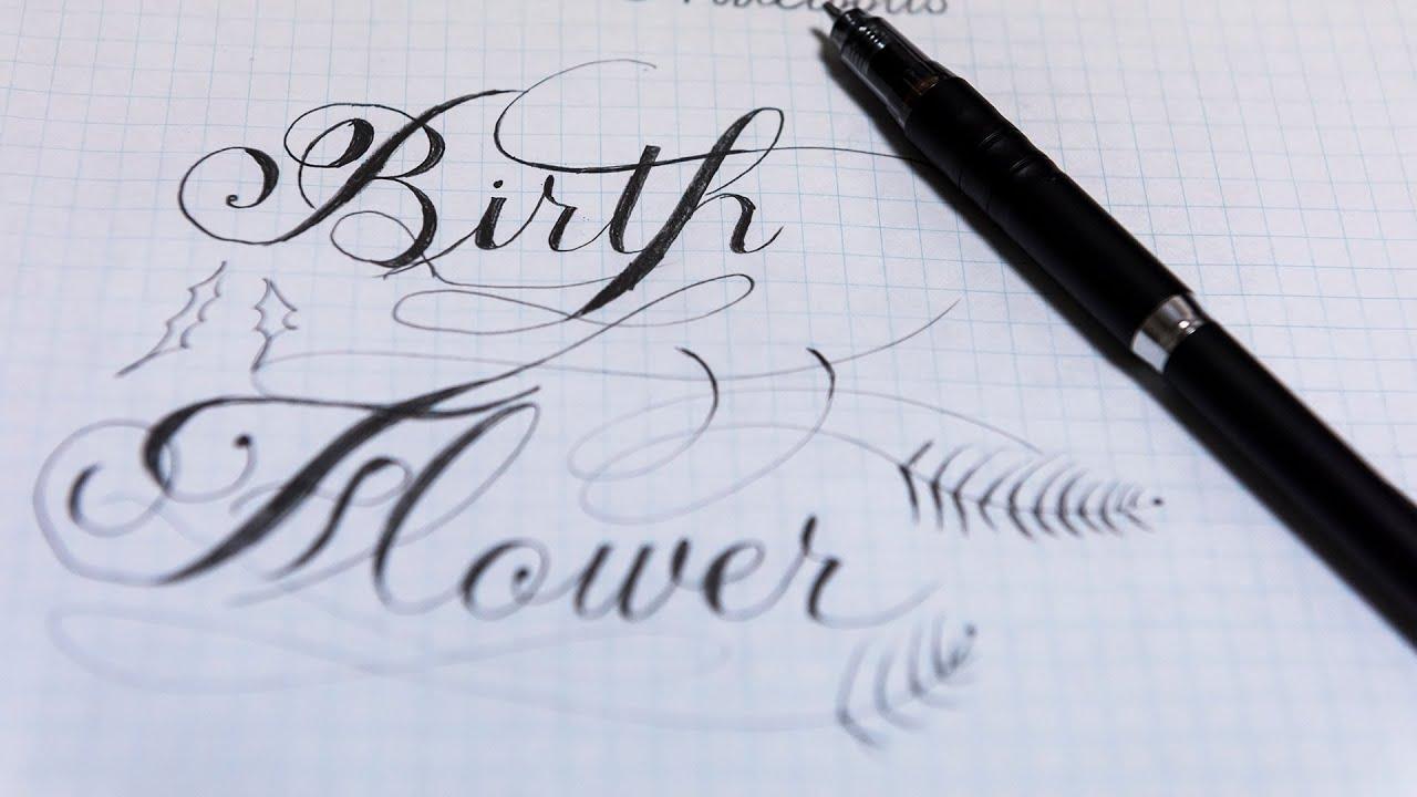 calligraphy writing asmr gentle
