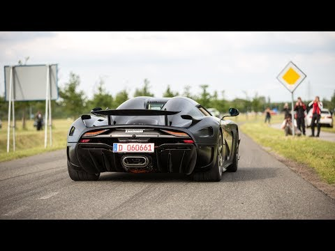 Supercars Accelerating – Regera, N-Largo F12, Agera RS ML, Ford GT, 950HP Supra, GT2 RS,…