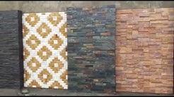 Natural stone wall tiles designs