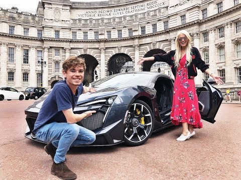 Driving The NEW $1.6 Million Fenyr Supersport In London –  w/ Supercar Blondie