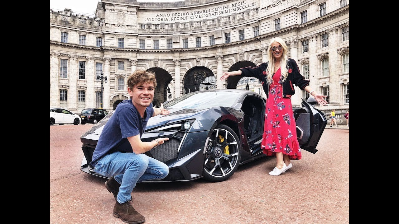 Driving The NEW $1.6 Million Fenyr Supersport In London -  w/ Supercar Blondie