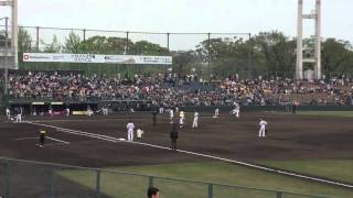 熊本 藤崎台野球場にて ホークス対オリックス戦.