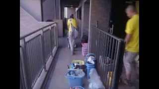横浜 おそうじマスターズの全体ハウスクリーニング密着取材映像