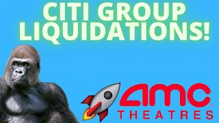 AMC STOCK: CITI GROUP LIQUIDATIONS! - WHY IS AMC DROPPING SO MUCH? - (Amc Stock Analysis)