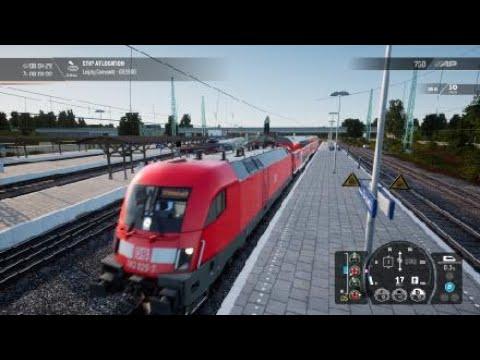 Train Sim World 2 - DB BR 182 train setup - destination board, lights and AFB |