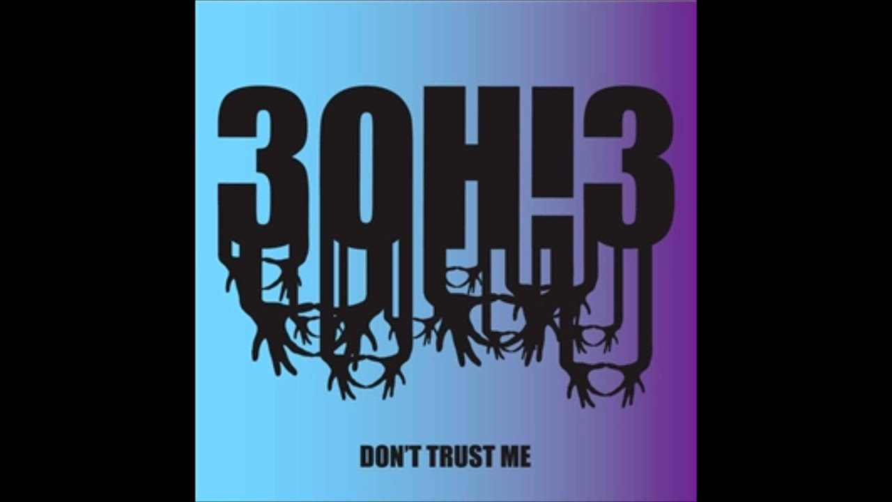 3oh 3 Dont Trust Me Speed Up Youtube