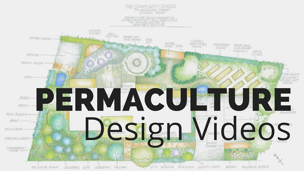 how to make a permaculture design