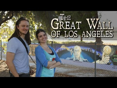 Exploring the Great Wall of Los Angeles - Oddity Odysseys