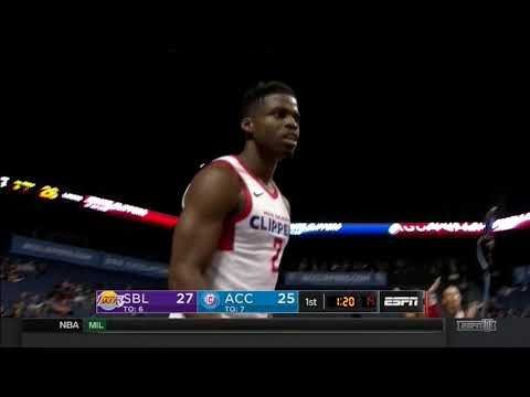 Ike Iroegbu (13 points) Highlights vs. South Bay Lakers 12-28-17