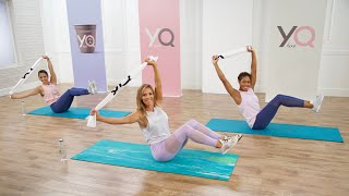 10-Minute Flat-Belly Barre Workout