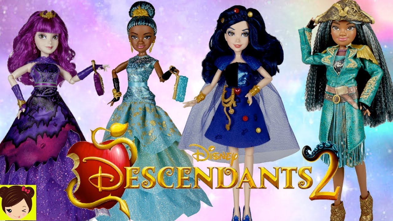 Muñecas De Descendientes 2 Mal Uma Y Diseñamos Vestidos De Muñecas Con Evie