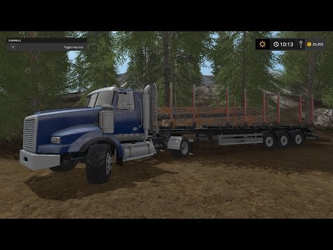Farming Simulator 15 xbox one logging/foresty part 1