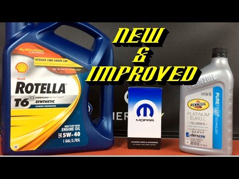 2014-2016 Ram EcoDiesel: New Rotella T6 Engine Oil Spec and Oil Filter Updates