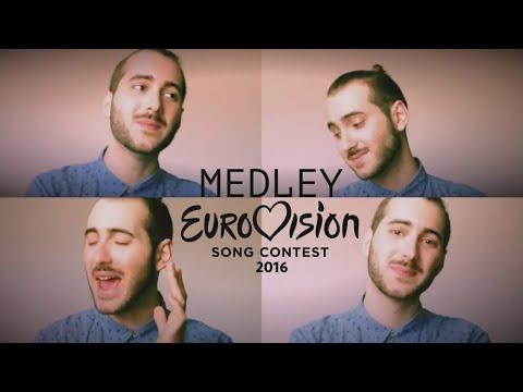 EUROVISION 2016 MEDLEY - Mashup of ESC 2016 | Eric Oloz Cover