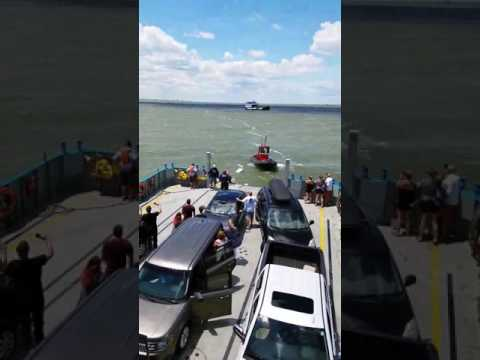Coast Guard and Ferry Rescue Seven From Sinking Boat in Put-In-Bay Ohio