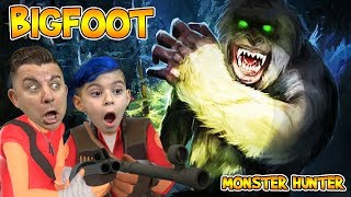 WE FOUND BIGFOOT AND HE IS ANGRY!! Bigfoot Monster Hunter