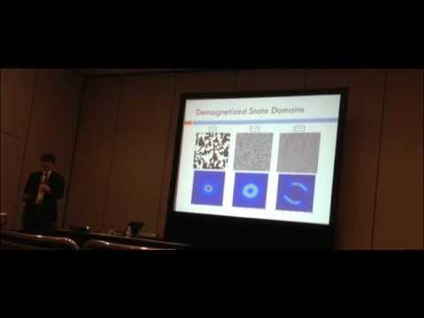 Zach Howard APS Physics Conference Presentation Numerical simulation of 2D ferromagnetic films