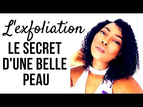 L'EXFOLIATION : LE SECRET D'UNE BELLE PEAU!