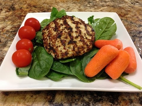 Healthy Turkey Patties Recipe - HASfit Healthy Dinner Recipes - Turkey Patty Recipe - Atkins Recipes