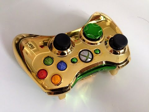 XBOX 360 Wi-fi Controller - How to change case