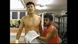 k-1 佐竹雅昭 対スタン・ザ・マン戦を控えてのハードトレーニング
