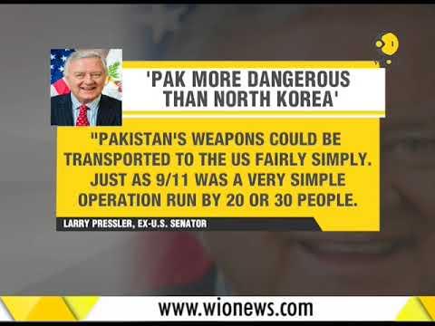 Ex-US Senator Larry Pressler says, 'Pakistan more dangerous than North Korea'