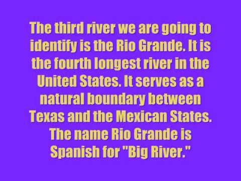Major River of the United States