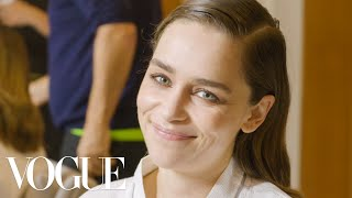 Emilia Clarke Gets Ready for the BAFTAs 2020 | Vogue