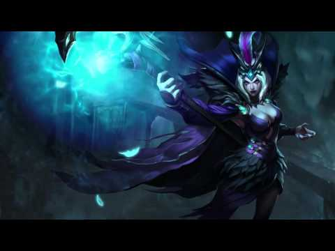 Ravenborn Leblanc Animated Login Screen League of Legends 4K HD (Fan Made)