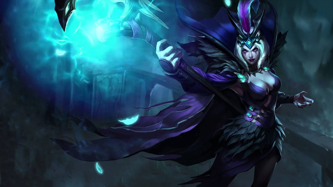 3d Moving Wallpaper For Windows 10 Ravenborn Leblanc Animated Login Screen League Of Legends