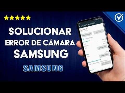 ¿Cómo Solucionar el Error de la Cámara en Móviles Samsung? ¡Muy Fácil!