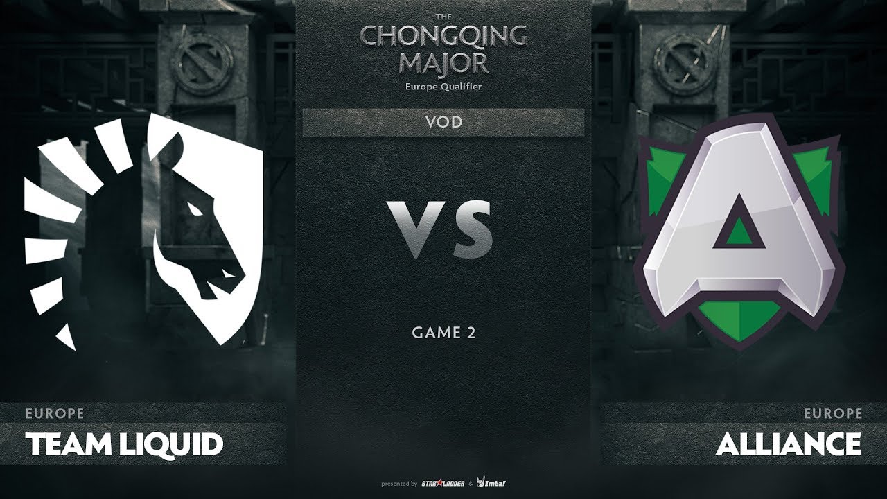 Team Liquid vs Alliance, Game 2, EU Qualifiers The Chongqing Major
