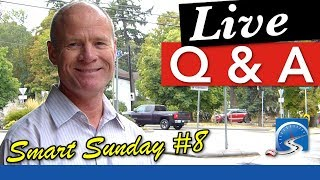 Live Q&A about Passing A Road Test, Driving, or Starting a Career as a CDL Drive :: Smart Sunday #8