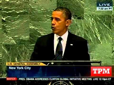 Obama Defends Free Speech At UN