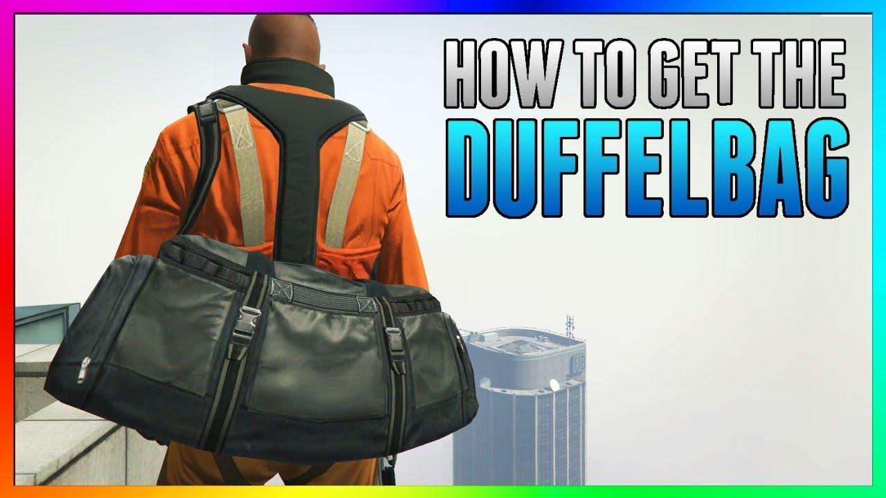 New How To Get Duffel Bag In Gta 5 Online 100 Working Duffle Tutorial Glitch