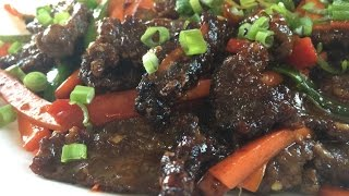 Easy Delicious Mongolian Beef
