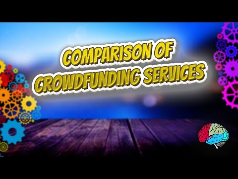 Comparison of crowdfunding services - Know It ALL 🔊✅