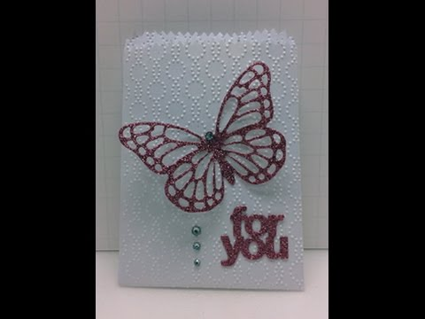 Stampin' Up! Butterfly For You Mini Treat Bag