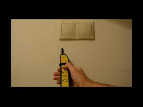 Детектор скрытой электропроводки Bosch GMS-120 - YouTube
