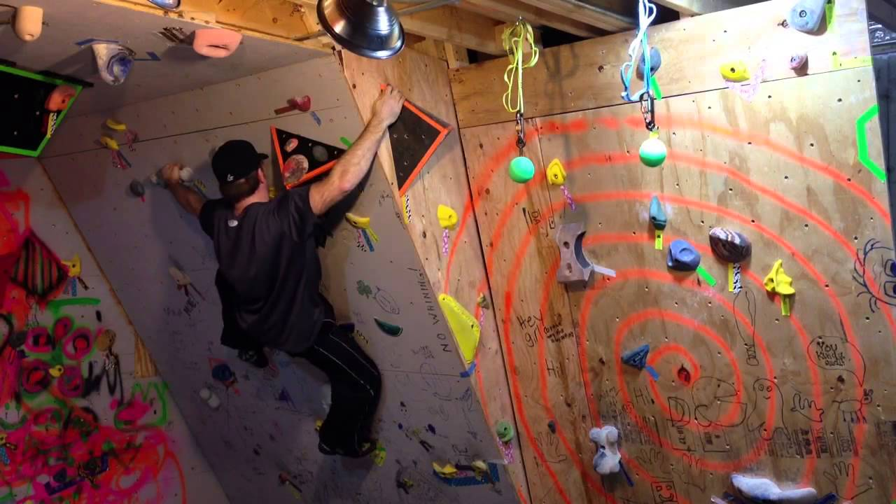 basement rock wall problem youtube rh youtube com Basement Climbing Training Outdoor Climbing Wall