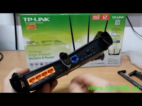 Configuración Básica Router Alta Potencia TP-Link TL-WR941HP