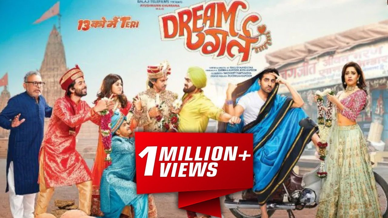 Download Dream Girl Bollywood Movie Full Review || Ayushmann Khurrana, Nushrat Bharucha, Annu Kapoor, Manjot