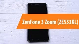 Распаковка Asus ZenFone 3 Zoom ZE553KL / Unboxing  Asus ZenFone 3 Zoom ZE553KL
