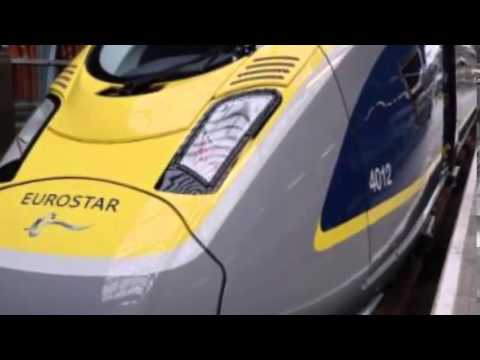 Eurostar Disruption With 'Migrants On Roofs'